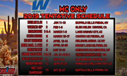 2019 WORCS Schedule