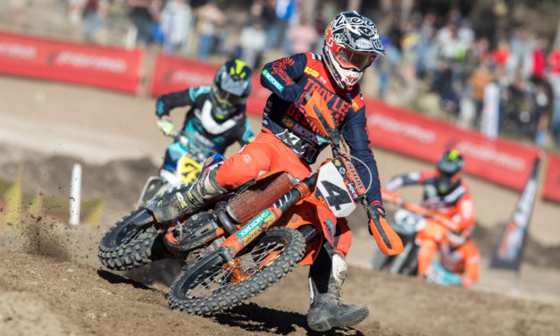 Maiden Moto Victory for KTM's Clout at Ranch MX