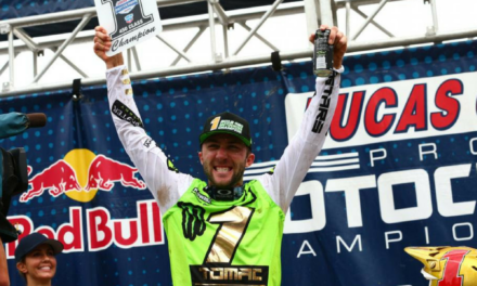 Tomac Clinches Back-to-Back  Lucas Oil Pro Motocross Championships at Ironman National