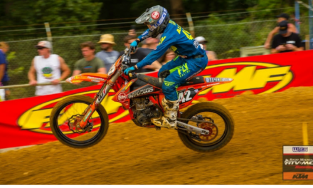 Baggett Charges to 4th, Bloss 8th at Budds Creek MX | Team RMATVMC-KTM-WPS Race Report