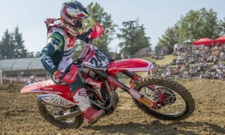 Gajser ends 2018 MXGP season with second place in MXGP of Italy