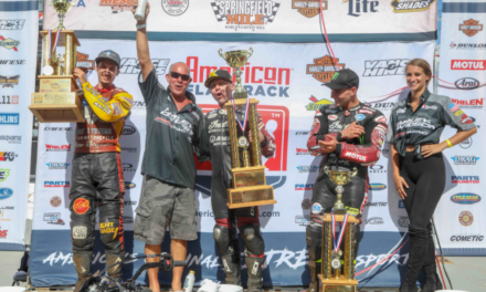 Bryan Smith Wins Epic Harley-Davidson Springfield Mile II; Jared Mees Takes Fifth AFT Twins Championship
