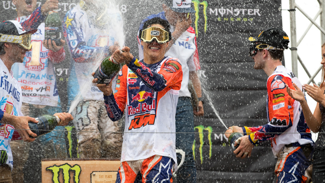 RED BULL KTM 2018 DOMINATION EXTENDS TO MOTOCROSS OF NATIONS