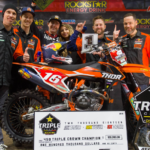 COLE THOMPSON CROWNED CANADIAN TRIPLE CROWN CHAMPION