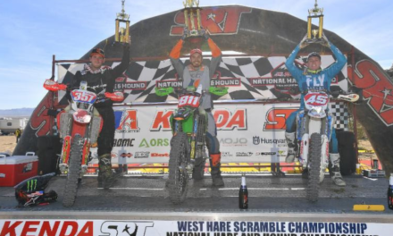BETA PODIUMS IN THREE CLASSES AT  ROUND 1 OF THE NATIONAL HARE & HOUND