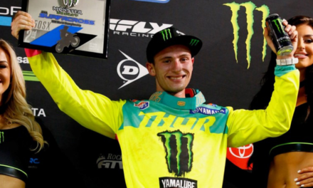 Cooper Scores Second, Oldenburg Sixth In 250SX East at Arlington