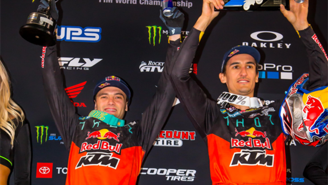 RED BULL KTM'S COOPER WEBB WINS MINNEAPOLIS SX; MUSQUIN ROUNDS THE PODIUM IN THIRD