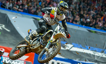 ROCKSTAR ENERGY HUSQVARNA FACTORY RACING CLAIMS A PAIR OF TOP-TEN FINISHES IN ATLANTA