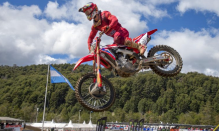 Second overall for Gajser in Argentina
