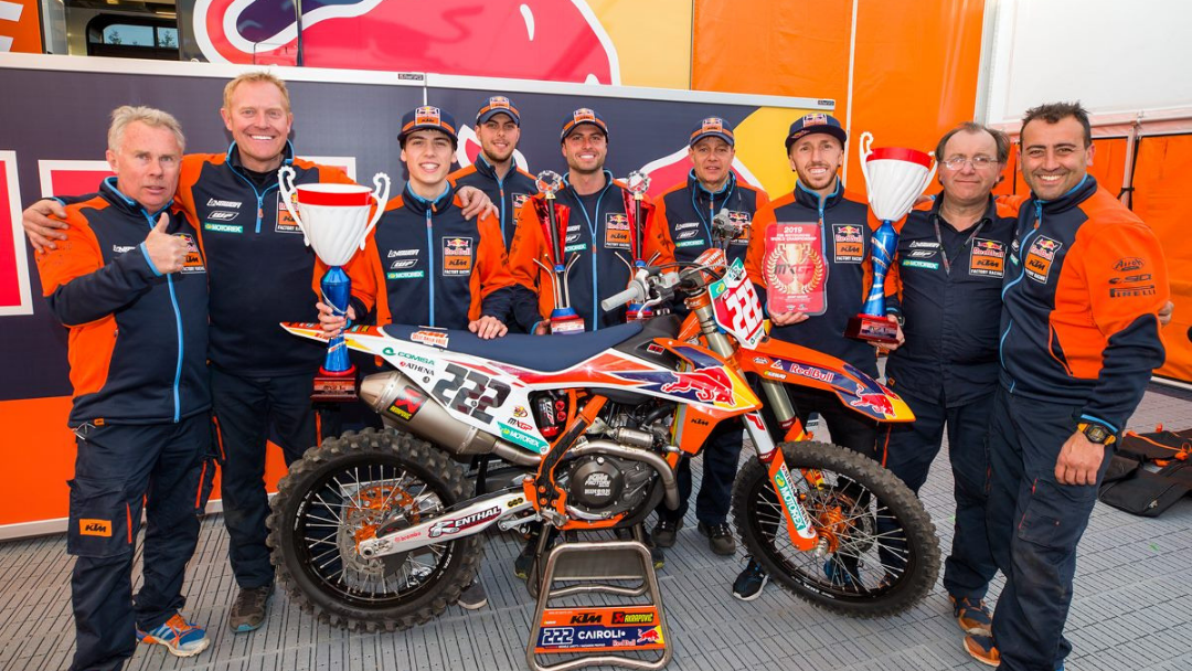 UTTER DOMINANCE FROM RED BULL KTM AT GRAND PRIX OF THE NETHERLANDS