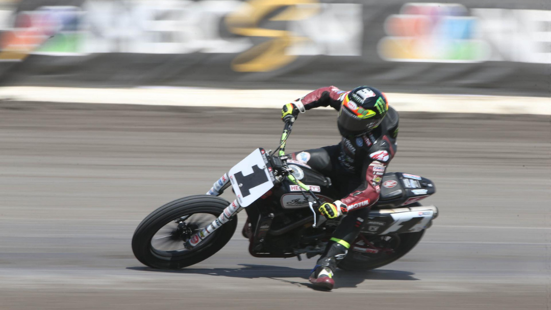 American Flat Track Title Fights Resume at Texas Half-Mile