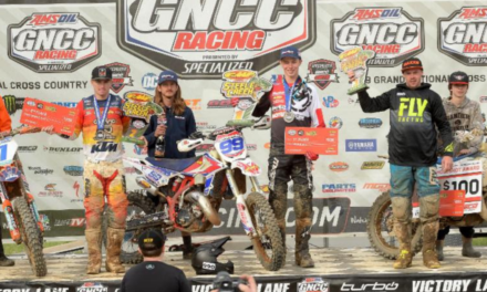 CODY BARNES WINS TWO-IN-A-ROW  IN THE GNCC XC3 CLASS