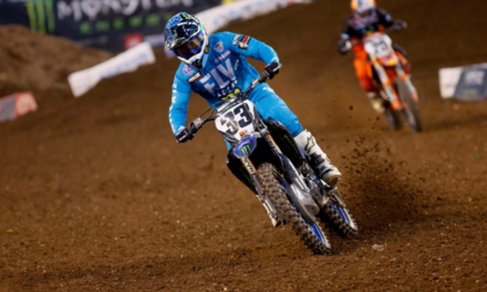 Monster Energy Yamaha Factory Racing Team's Josh Grant Continues to Improve with Eighth-Place Finish