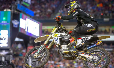 ROCKSTAR ENERGY HUSQVARNA FACTORY RACING CAPTURES A PAIR OF TOP-FIVE FINISHES IN NASHVILLE