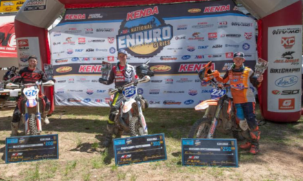 CODY BARNES TOPS THE PRO 2 PODIUM AT  ROUND 3 OF THE NATIONAL ENDURO SERIES
