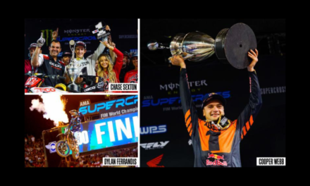 DUNLOP RIDERS CAP A DECADE OF DOMINANCE IN SUPERCROSS FINALE