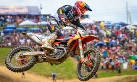 BIG STRIDES FOR COOPER WEBB WITH A SEASON-BEST FOURTH OVERALL AT HIGH POINT MX