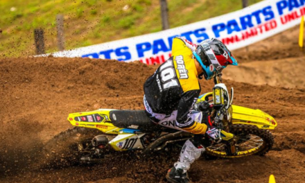 NOREN TAKES 5-7 IN DEBUT RIDE FOR SUZUKI AT WICK MX