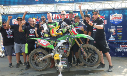 Cianciarulo Captures First Professional Title at Ironman in Lucas Oil Pro Motocross Championship 250 Class