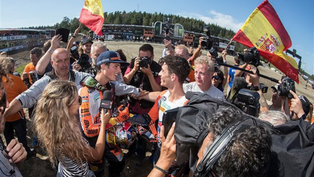 PRADO TAKES SECOND CONSECUTIVE MX2 FIM WORLD CHAMPIONSHIP AT GRAND PRIX OF SWEDEN AS VIALLE TOASTS FIRST OVERALL VICTORY