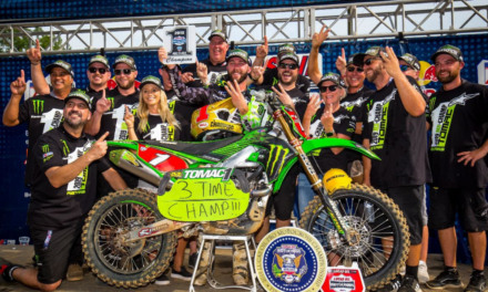 Tomac Sweeps Motos at Budds Creek to Clinch Third Consecutive Lucas Oil Pro Motocross Championship
