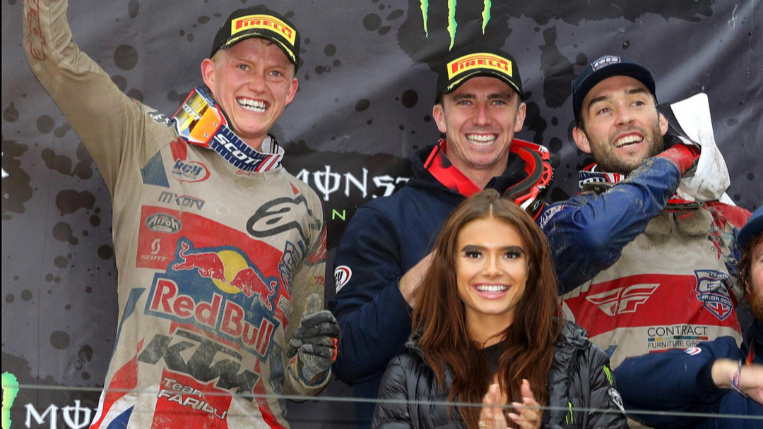 TEAM PODIUM AND FIFTH IN MX2 FOR ADAM STERRY AT THE NATIONS