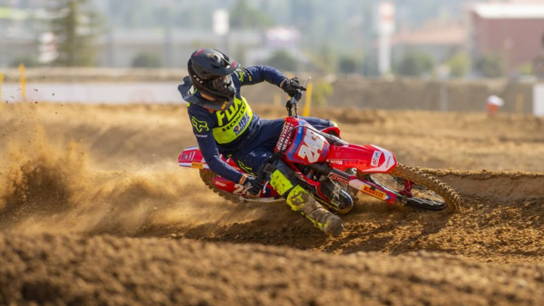 Gajser fourth overall at the MXGP of Turkey