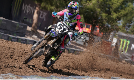 Barcia Scores Sixth-Place Finish in Challenging Conditions at Monster Energy Cup