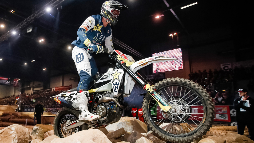 RUNNER-UP FINISH FOR BOLT AT SUPERENDURO ROUND TWO