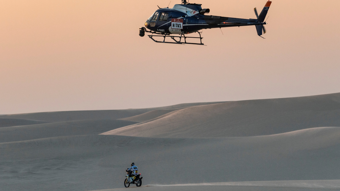PABLO QUINTANILLA SECOND OVERALL AFTER STAGE 10 OF DAKAR