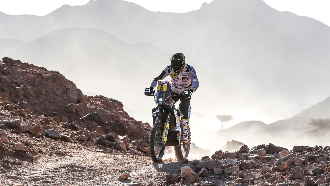 PABLO QUINTANILLA THIRD FASTEST ON TECHNICAL DAKAR STAGE TWO