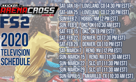 2020 Arenacross Series to Air on Fox Sports 2
