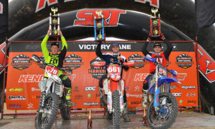 BETA FACTORY SUPPORT RIDER; COLE CONATSER TOPS THE PRO 250 PODIUM AT ROUND 1 OF THE NATIONAL HARE & HOUND