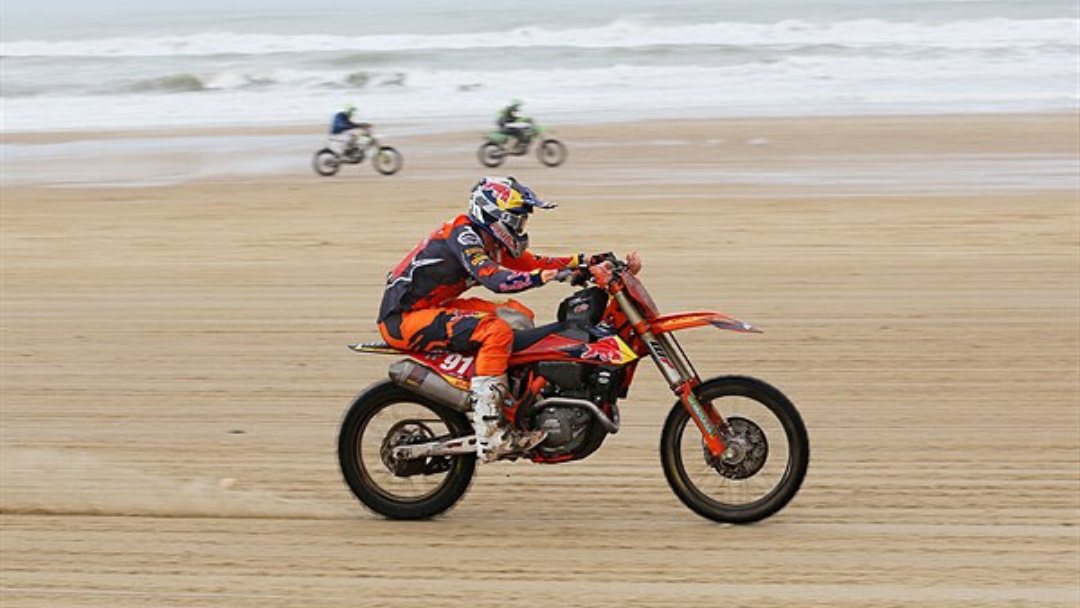 NATHAN WATSON IN COMMAND ON FRENCH SAND