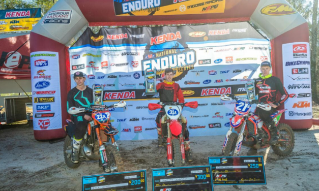 CODY BARNES FINISHES ON THE NEPRO 2 PODIUM IN 2ND AT ROUND 1 OF THE NATIONAL ENDURO SERIES