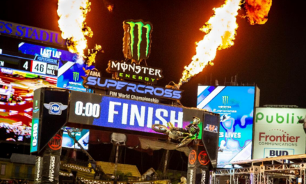 Eli Tomac Takes 450SX Class Victory and Points Lead