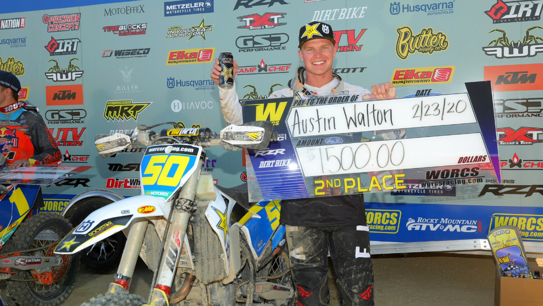 AUSTIN WALTON CLAIMS RUNNER-UP FINISH AT SECOND ROUND OF WORCS