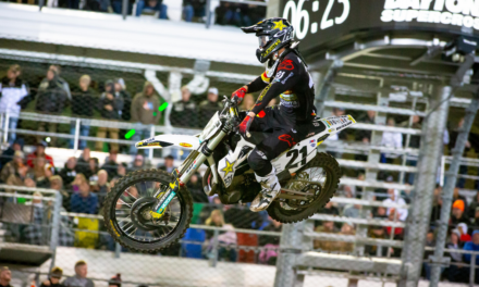 ANDERSON AND HAMPSHIRE CLAIM TOP-FOUR FINISHES AT DAYTONA SUPERCROSS