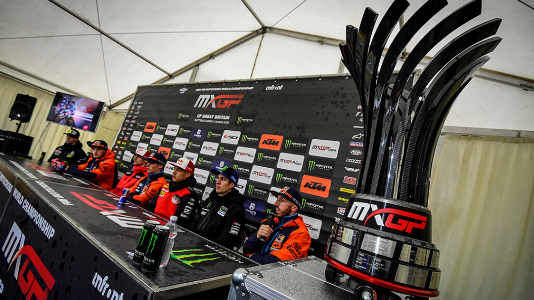 MXGP unveil a brand-new trophy for 2020!