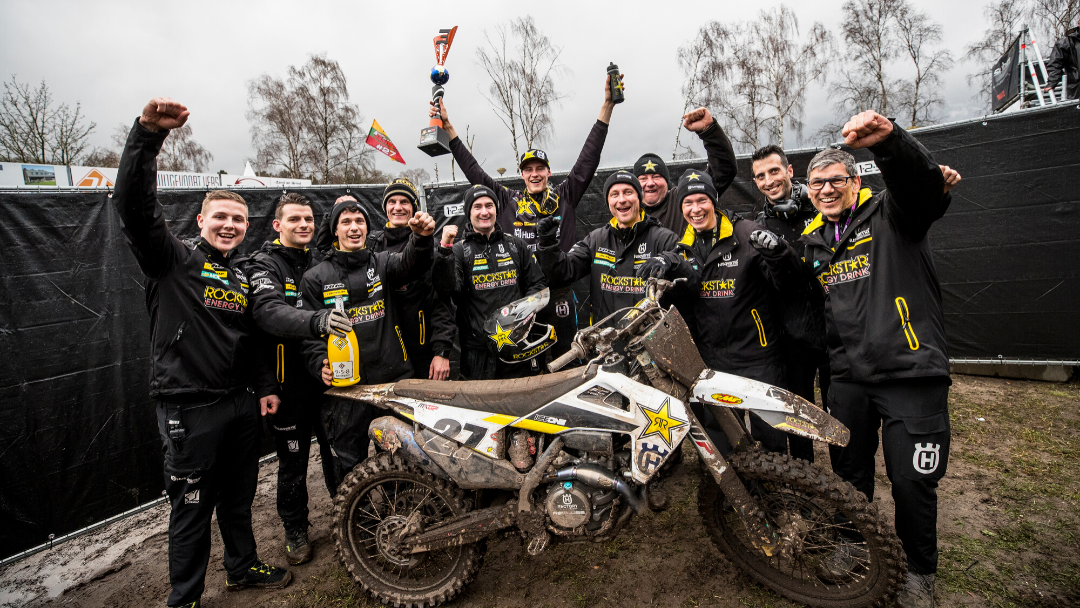 ARMINAS JASIKONIS PLACES THIRD OVERALL AT MXGP OF THE NETHERLANDS