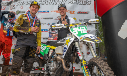 CRAIG DELONG CLAIMS A PODIUM FINISH IN HIS DEBUT WITH THE ROCKSTAR ENERGY HUSQVARNA FACTORY RACING TEAM