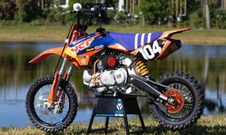 ROAD 2 RECOVERY AND YCF CREATE PIT BIKE RAFFLE FOR BRIAN MOREAU