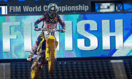 WORLD SUPERCROSS BACK ON TRACK THIS MONTH