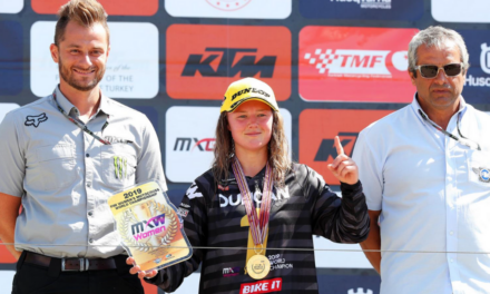 DRT Kawasaki's Courtney Duncan has been voted New Zealand's Sports Woman of the Year at the national Media and Entertainment Awards