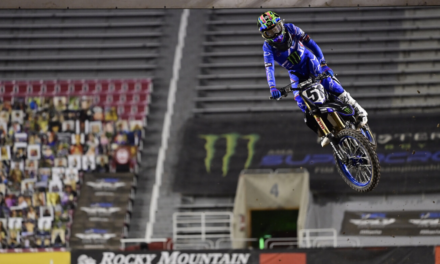 Barcia Takes Another Top-10 Finish on Tough Night in Salt Lake City