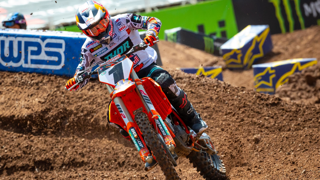 WEBB SECURES RUNNER-UP FINISH IN 2020 450SX CHAMPIONSHIP AS THE SEASON CONCLUDES IN SALT LAKE CITY