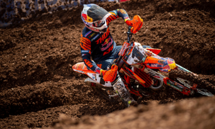 RUNNER-UP FINISH FOR WEBB AND THE RED BULL KTM FACTORY RACING TEAM AT ROUND 13 OF SX CHAMPIONSHIP