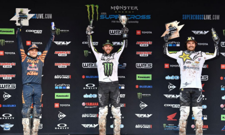 Monster Energy® Kawasaki Rider Eli Tomac Captures Seventh Win of the Season to Extend his Points Lead