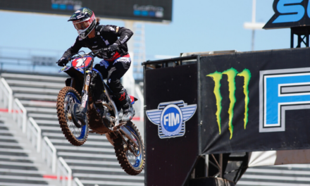 Ferrandis Finishes Second on Tough Day in Salt Lake City