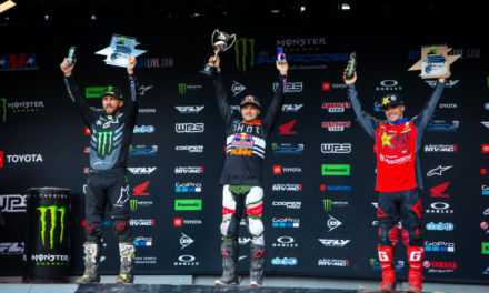 Cooper Webb Takes Title Chase to Final Round with 450SX Class Victory – Chase Sexton Extends Points Lead in Eastern Regional 250SX Class